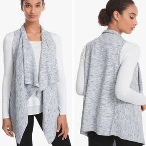 White House Black Market gray vest